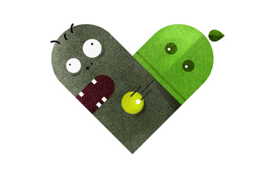 tumblr lzd9s3ruin1rpywm4o1 5001 Love and Hate Versus Hearts by Dan Matutina