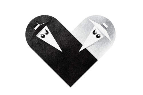 tumblr lziqp5e1zh1rpywm4o1 5001 Love and Hate Versus Hearts by Dan Matutina
