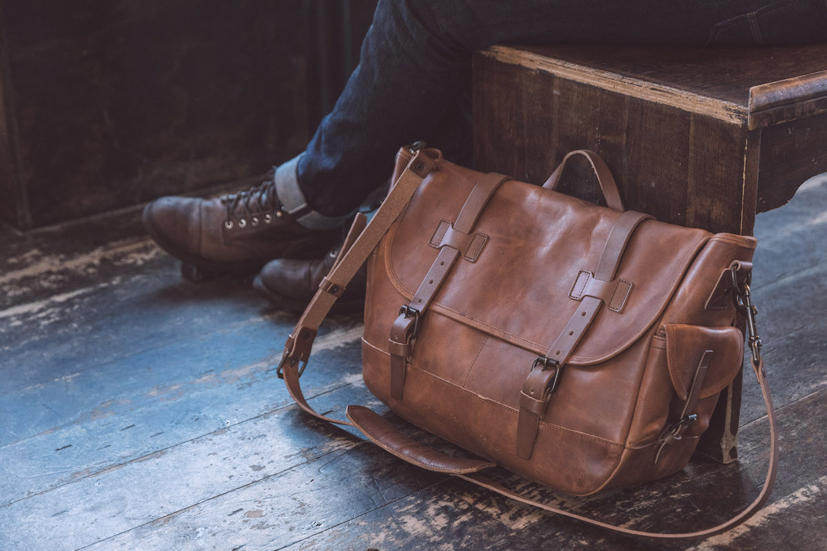 791ed3c2e093 Large Messenger Bag by the Whipping Post