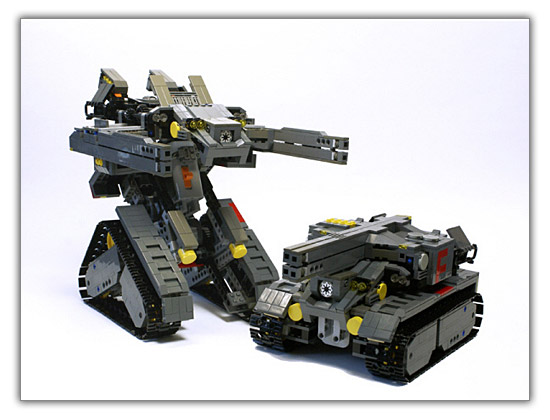 un tank radiocommand qui se transforme en robot en un clin d 39 il. Black Bedroom Furniture Sets. Home Design Ideas