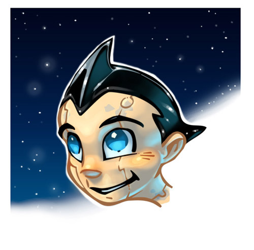 astro boy artworks