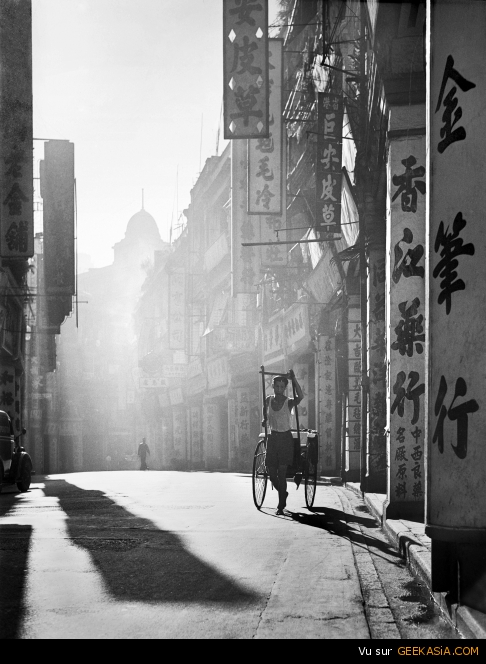 """A Day Is Done"" par Fan Ho"