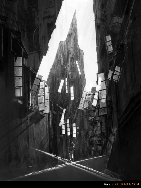 """Shattered Alley"" par Fan Ho"