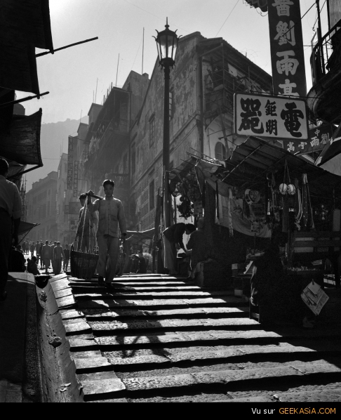 """Ladder Street"" par Fan Ho"