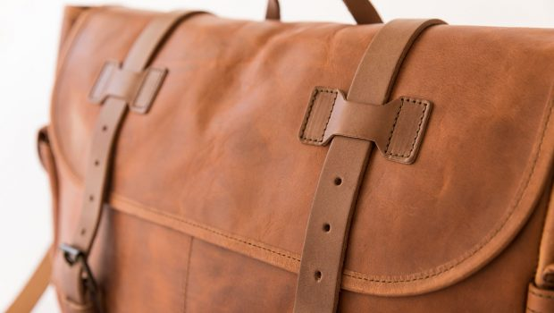 Large Messenger Bag (Whipping Post)