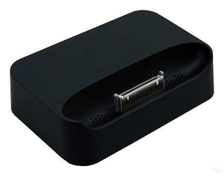 Dock pour iPhone 3G et iPhone 3GS (Noir)